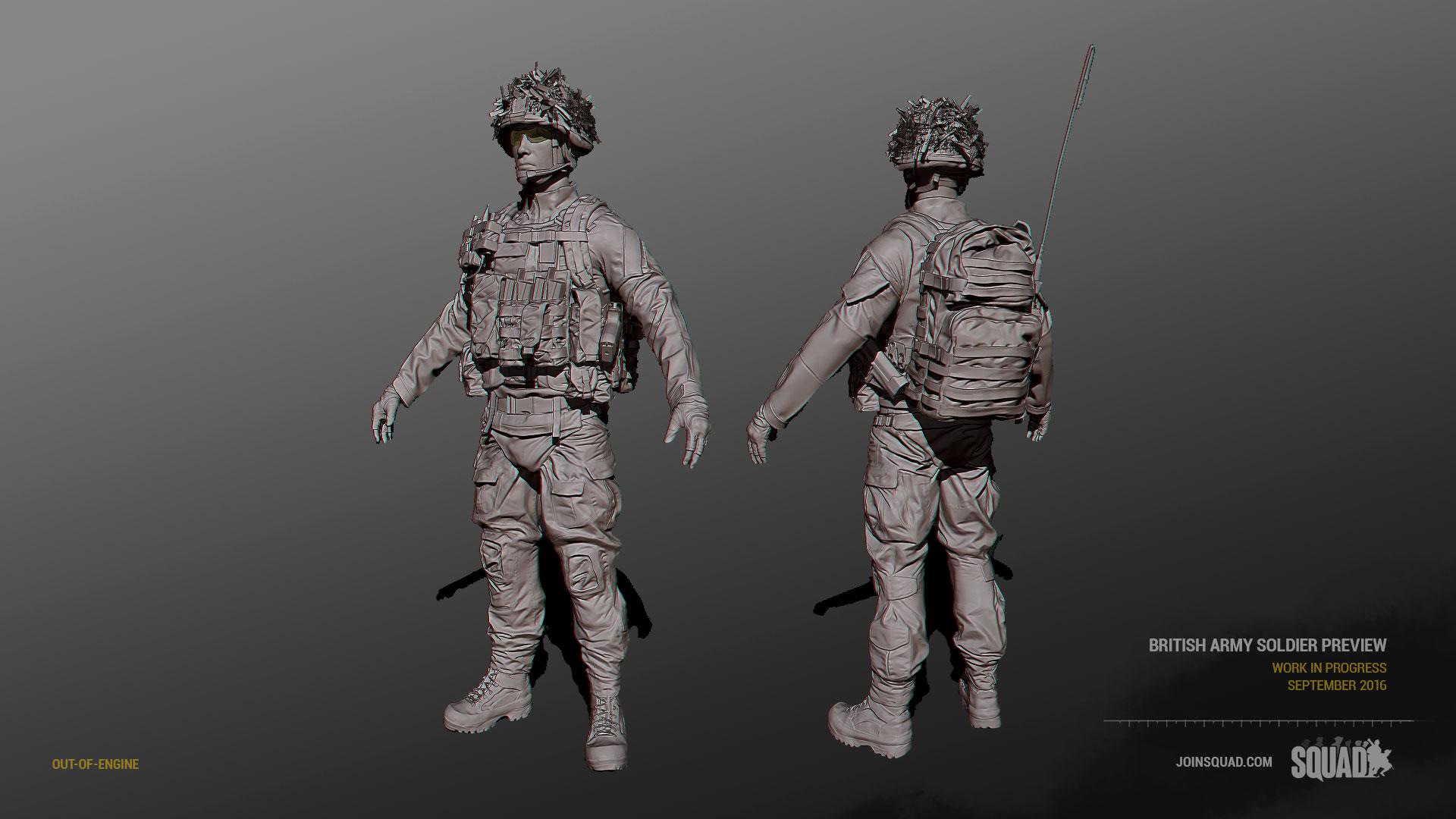 Britische Soldaten