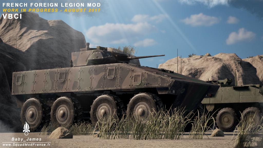 Schützenpanzer der Fremdenlegion