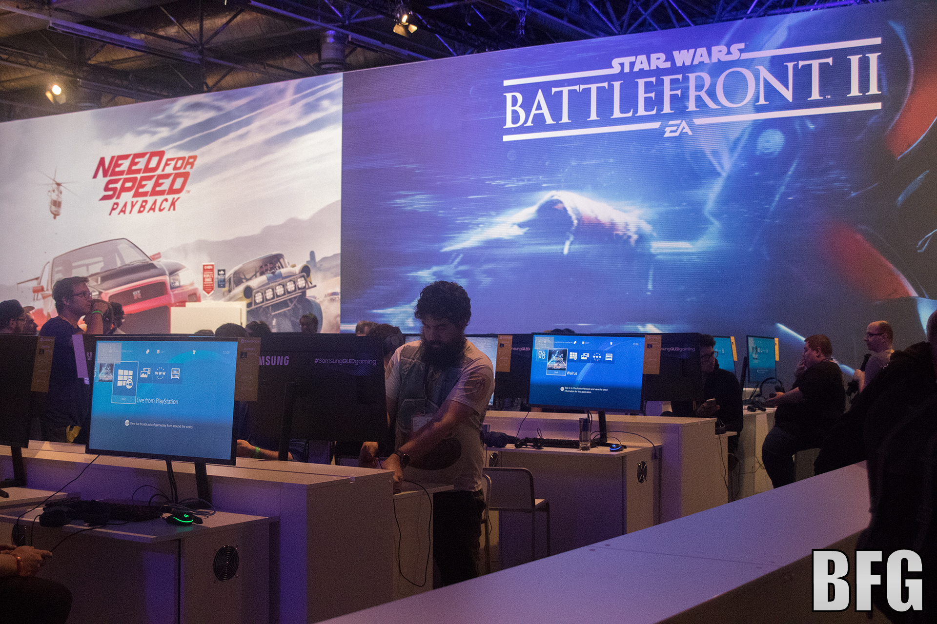 Battlefront II in der Business Area