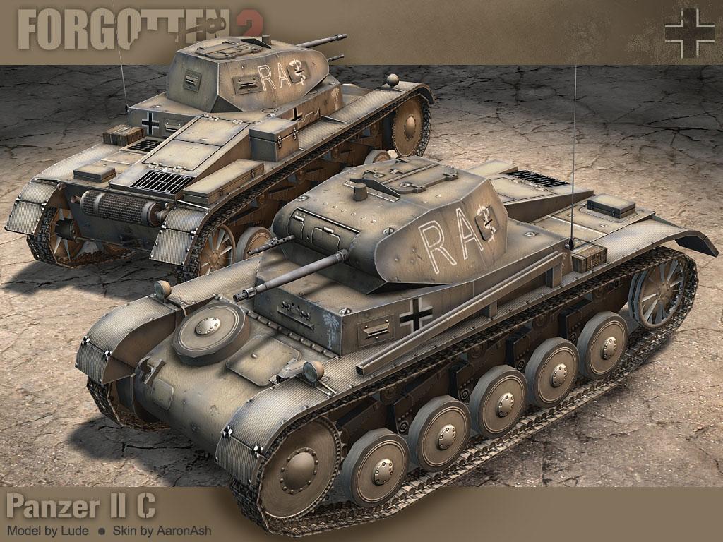 [MOC]德軍2號戰車 (修改版) PzKpfw II