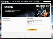 Battlelog Platoon Screenshot
