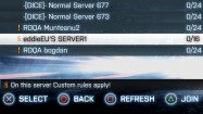 Custom Server Rules (Konsole)