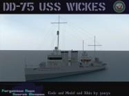 DD-75 USS Wickes