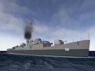 DE-339 USS John C. Butler