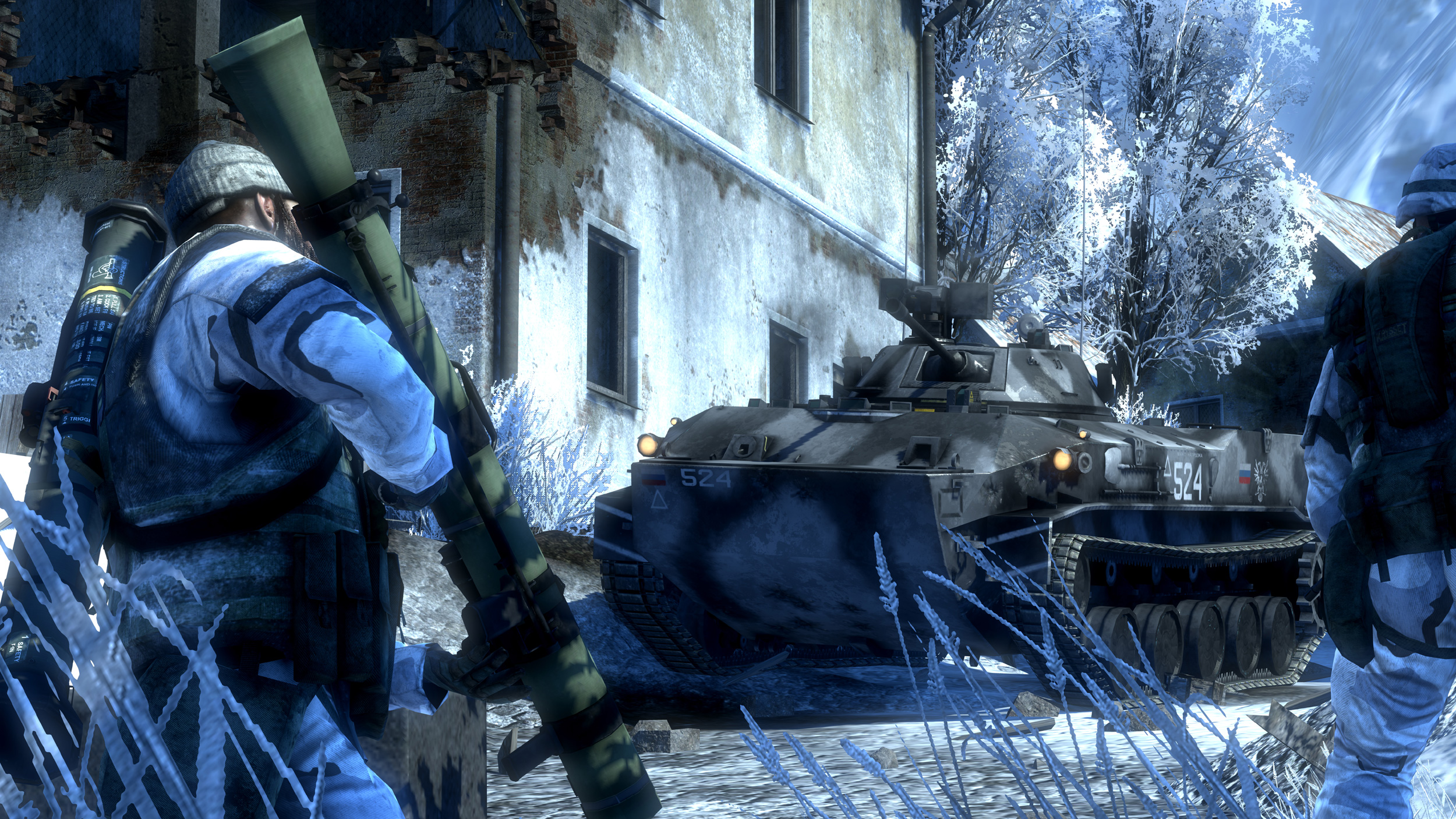 Скриншоты к Battlefield Bad Company 2 (PS3) (Русская версия) .